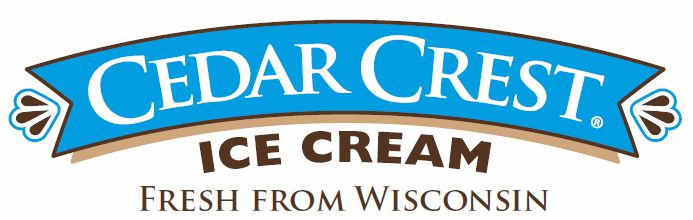 Cedar Crest Ice Cream logo - Moosie's Ic Cream Medford, WI