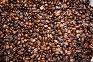 Coffee Beans - Mossie's ice cream parlor, Medford, WI