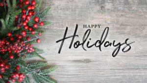 Happy Holidays from Moosies and the Medford Inn