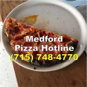 Medford Pizza Hotline at Moosies